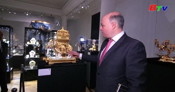 SOTHEY'S lần đầu tiên bán đấu giá bộ sưu tập làm từ vàng