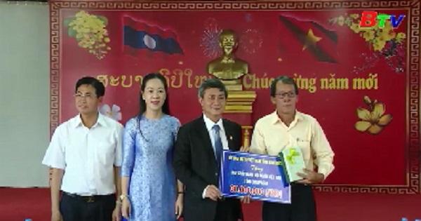 Kết thúc chuyến công tác của đoàn UBMTTQVN tỉnh Bình Dương tại Champasak - Lào
