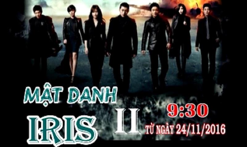 Phim Mật Danh Iris II (9h30 BTV2 ngày 24/11)