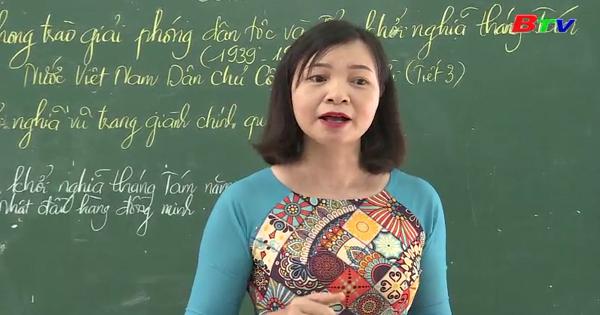 Một cô giáo luôn tâm huyết với sự nghiệp trồng người