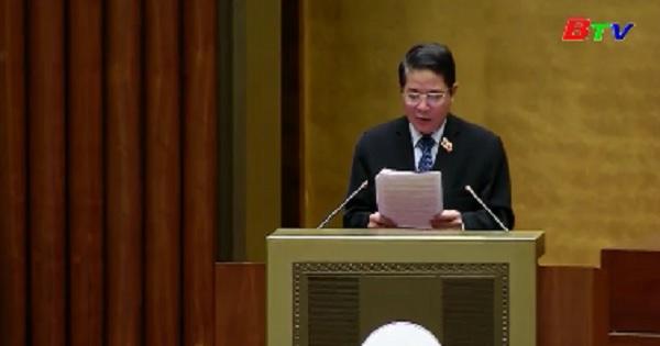 Quốc hội thông qua Nghị quyết về phân bố ngân sách Trung ương năm 2020