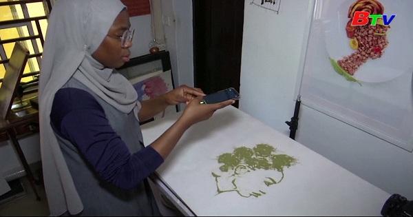 Nigeria - Biến thực phẩm thông thường thành tác phẩm nghệ thuật