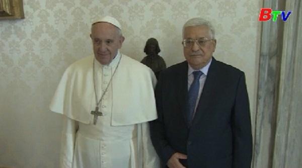 Đức giáo hoàng Francis tiếp tổng thống Palestine