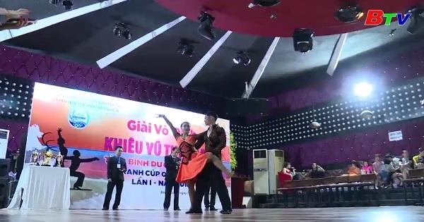 Giải vô địch khiêu vũ thể thao tỉnh Bình Dương mở rộng năm 2018