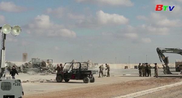 Lại một căn cứ của Iraq bị tấn công tên lửa, có binh sĩ Mỹ đồn trú