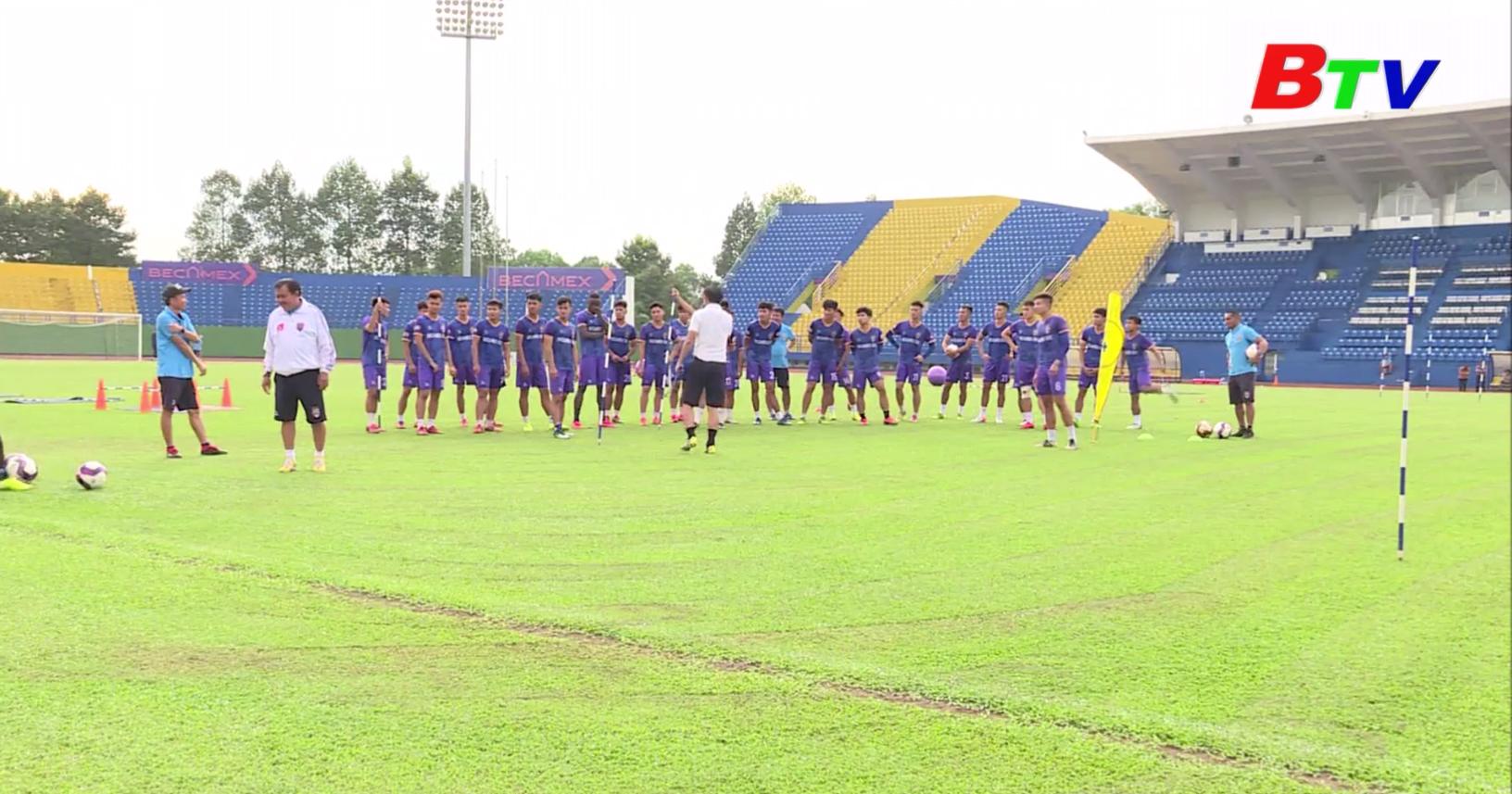 Trước trận mở màn V-League 2021 Becamex Bình Dương - Thanh Hóa