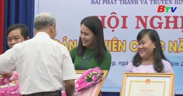 Hội nghị cán bộ viên chức Đài PTTH Bình Dương năm 2018