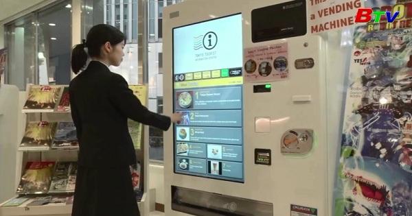 Máy bán hàng tự động công nghệ cao ven đường