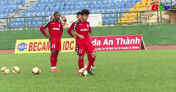 Trước Vòng 2. V.League 2018 : B. Bình Dương - Nam Định