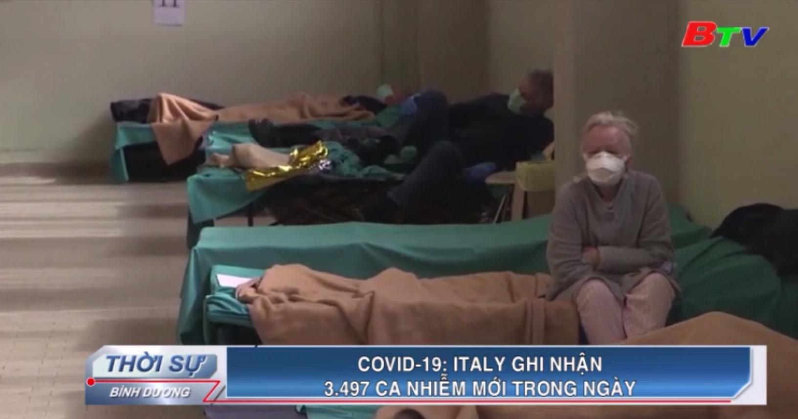 Covid-19 – Italy ghi nhận 3.497 ca nhiễm mới trong ngày