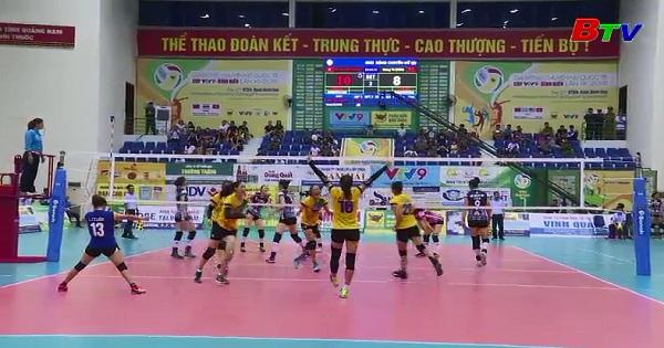 Kết quả lượt trận thứ hai Bảng B Giải Bóng chuyền nữ Quốc tế VTV9 - Bình Điền 2018