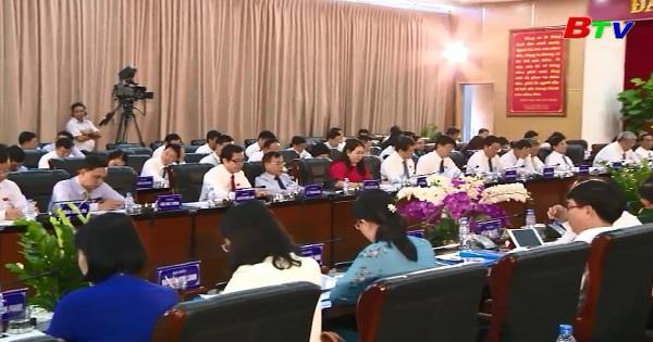Kỳ họp lần thứ 7 HĐND tỉnh Bình Dương khóa IX
