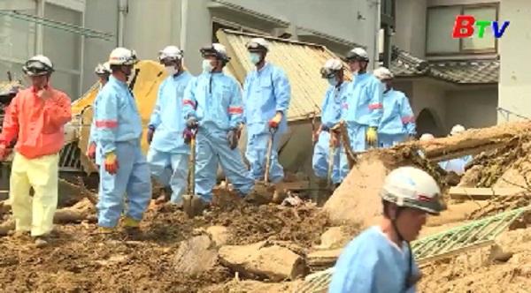 Nhật Bản nỗ lực khắc phục hậu quả mưa lũ