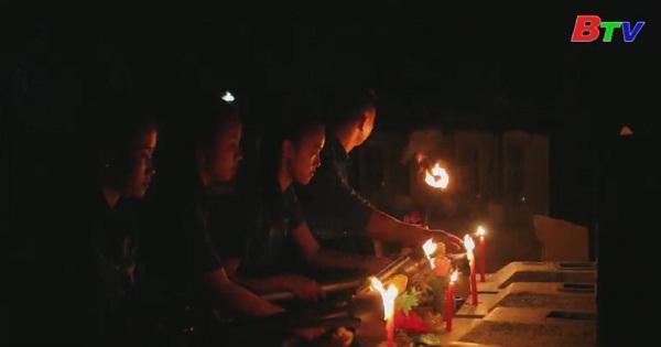 Thắp nến tri ân tưởng niệm các anh hùng liệt sĩ tại Tây Ninh