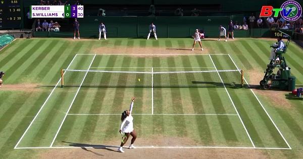 Angerlique Kerber vô địch đơn nữ Wimbledon 2018
