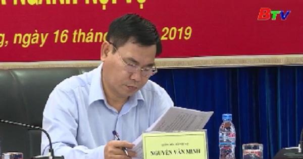 Ngành nội vụ triển khai nhiệm vụ 6 tháng cuối năm 2019