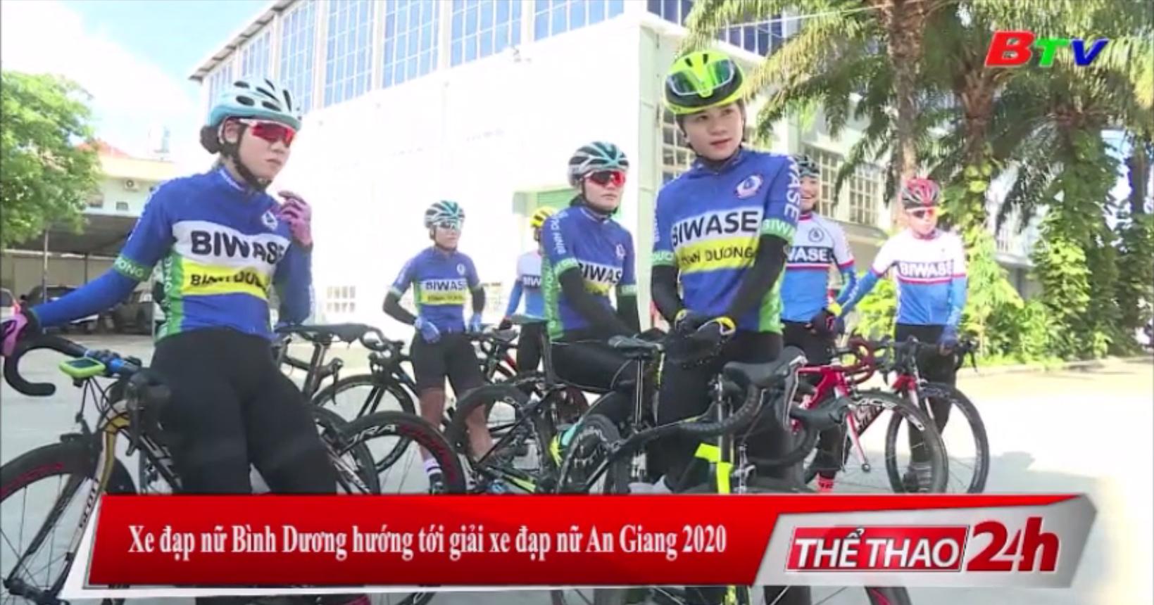 Xe đạp nữ Bình Dương hướng tới Giải xe đạp nữ An Giang 2020