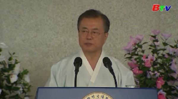 Tổng thống Hàn Quốc đề nghị Nhật Bản đối thoại