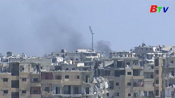 IS chỉ còn kiểm soát 8% lãnh thổ Syria