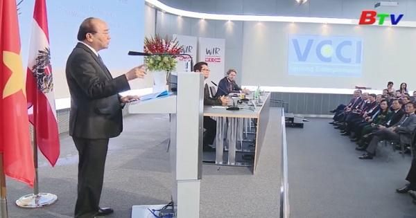 Thủ tướng Nguyễn Xuân Phúc dự diễn đàn doanh nghiệp Việt Nam - Áo