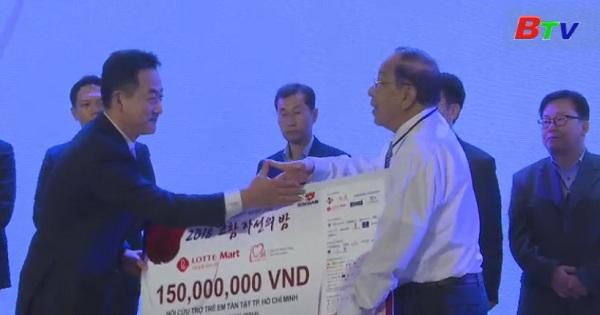 Đêm từ thiện Kocham nhận ủng hộ tiền mặt và tặng phẩm hơn 5 tỷ đồng