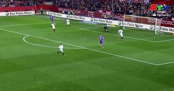 Vòng 18 La Liga: Sevilla 2-1 Real Madrid