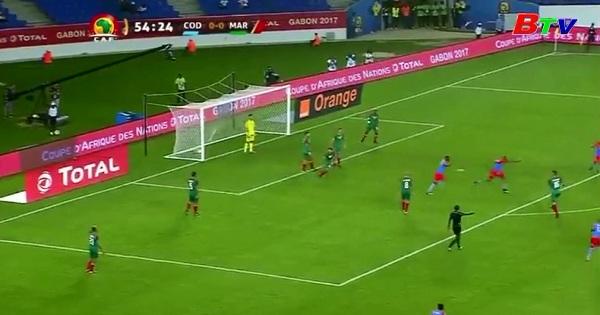 Bảng C – CAN 2017 - Cộng hoà Công gô 1-0 Ma Rốc