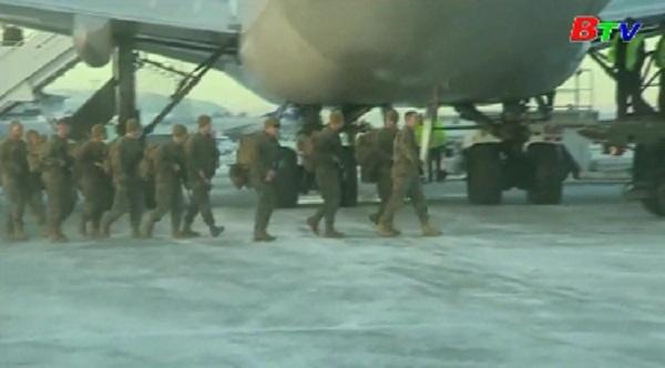 Mỹ triển khai lính thủy đánh bộ tới Na Uy