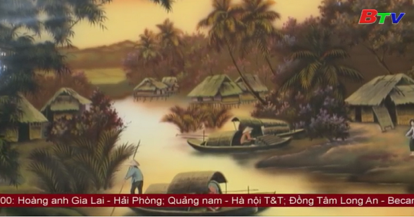 Chuẩn bị công bố nghề Sơn mài Tương Bình Hiệp là di sản văn hóa phi vật thể quốc gia