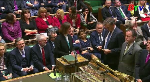 Chính phủ Anh vượt qua cuộc bỏ phiếu tín nhiệm của quốc hội
