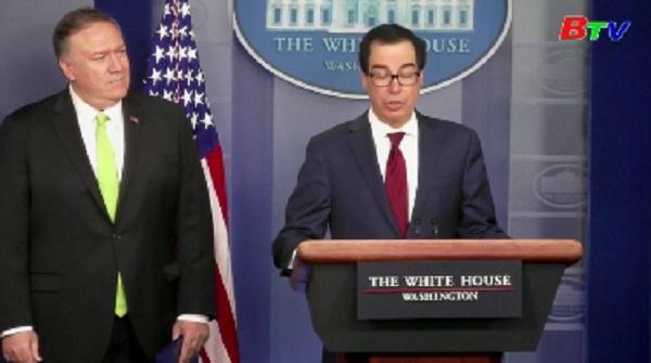 Mỹ đồng ý 'giai đoạn giảm giao dịch 90 ngày' trước khi chính thức thực thi trừng phạt Iran