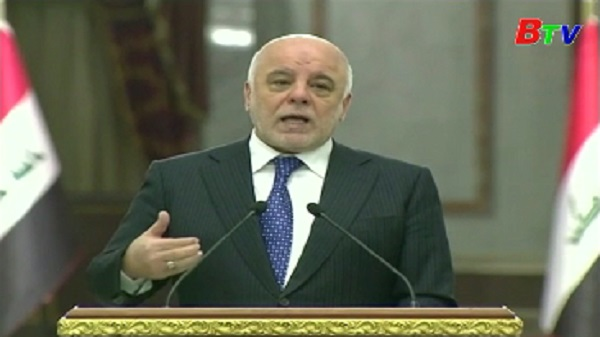 Thủ tướng Iraq thông báo kế hoạch tái thiết đất nước