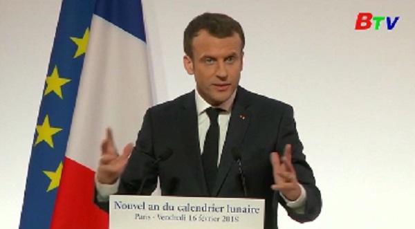 Pháp muốn mở rộng quan hệ với các nước Châu Á - Thái Bình Dương