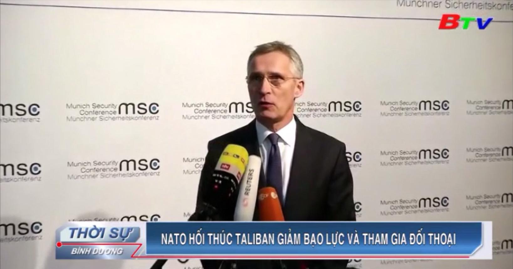 NATO hối thúc Taliban giảm bạo lực và tham gia đối thoại