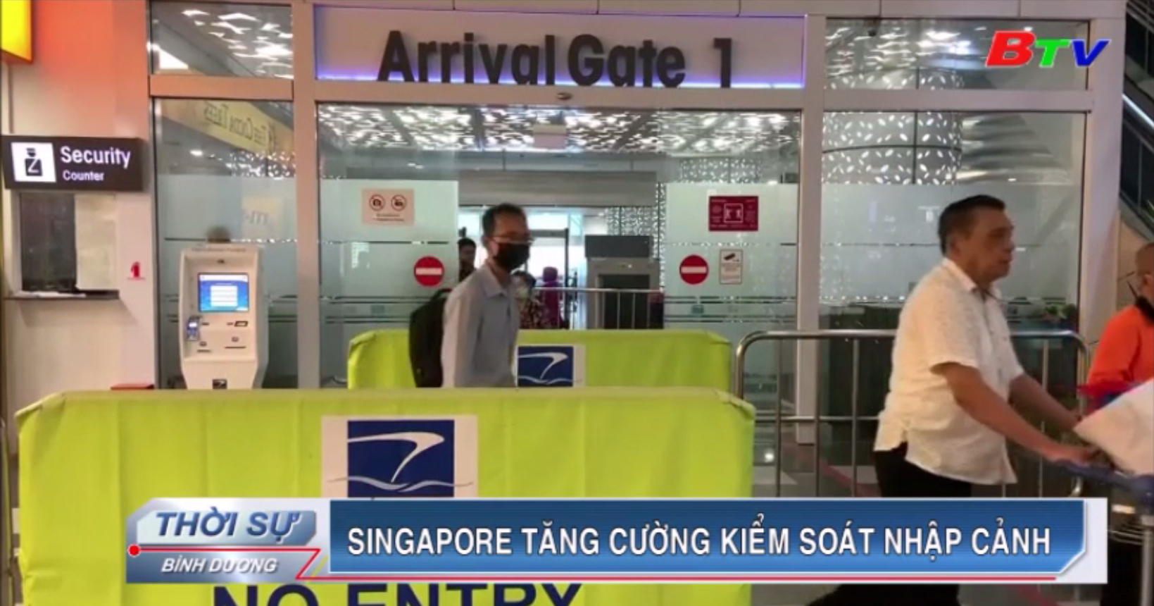Singapore tăng cường kiểm soát nhập cảnh