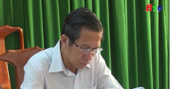 Ủy ban bầu cử huyện Dầu Tiếng họp phiên thứ 3