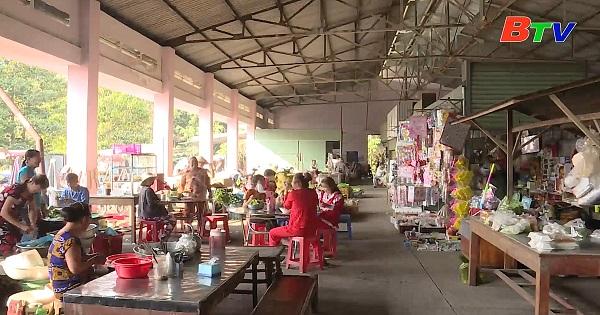 Đầu tư chợ ở xã nông thôn mới