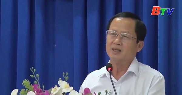 Hội nghị Ban chấp hành Đảng bộ huyện Bàu Bàng lần thứ 6