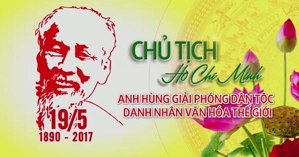 Kỷ niệm 127 năm ngày sinh Chủ tịch Hồ Chí Minh
