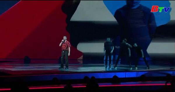 Thí sinh luyện tập chuẩn bị cho vòng chung kết Eurovision
