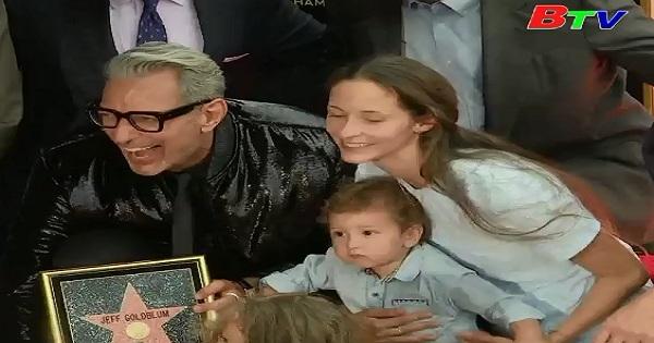 Diễn viên Jeff Goldblum  nhận Sao trên Đại lộ danh vọng