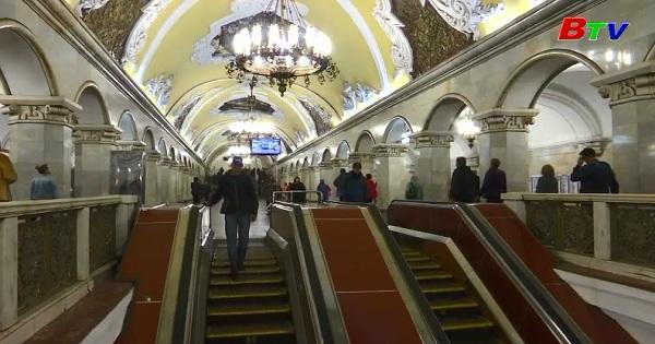Bảo tàng Xô Viết bên dưới nhà ga tàu điện ngầm
