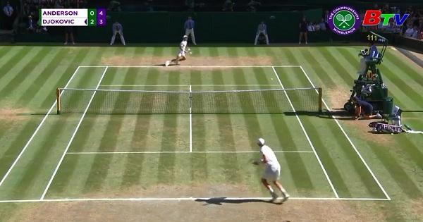 Diokovic đoạt danh hiệu vô đich Giải Wimbledon 2018