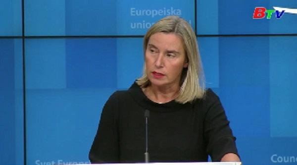 EU ưu tiên giải pháp ngoại giao trong vấn đề hạt nhân Iran