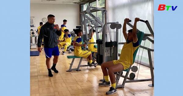 U18 Việt Nam tập huấn tại Nhật Bản