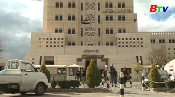 Syria bác bỏ cáo buộc tấn công bằng vũ khí hóa học