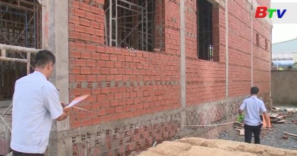 Thị xã Thuận An tăng cường quản lý đối với lĩnh vực xây dựng