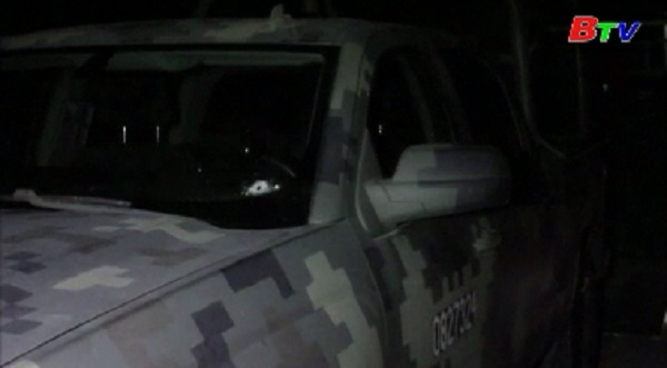 Đấu súng giữa binh lính và tội phạm tại Mexico, 15 người thiệt mạng