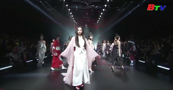 Những thiết kế mới lấy cảm hứng từ trang phục Kimono