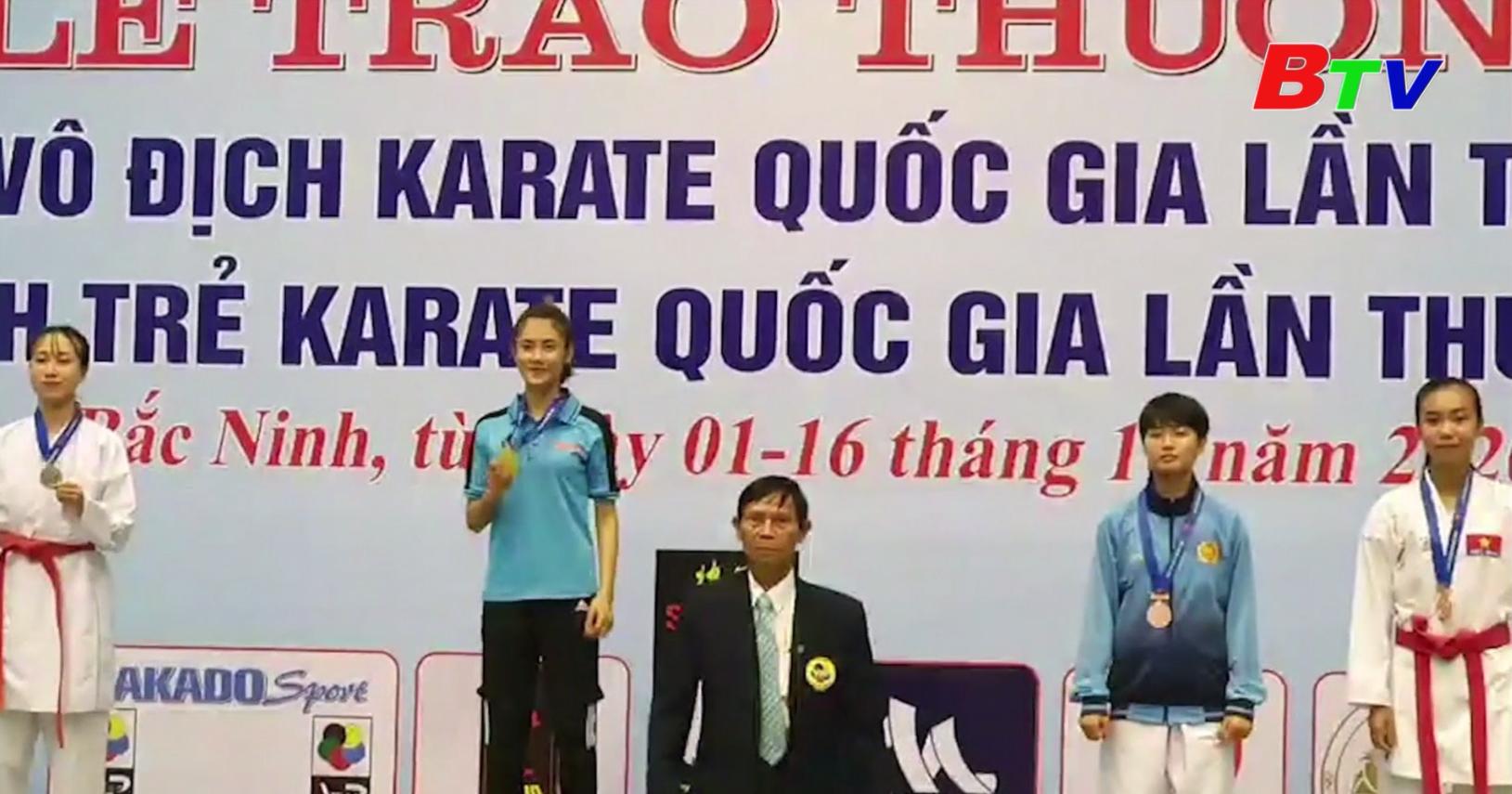 Kết thúc Giải vô địch Karatedo Quốc gia năm 2020